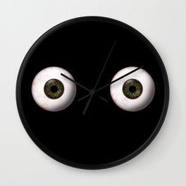 Eye Balls Wall Clock