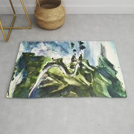 California Coast Big Sur USA Rug