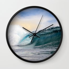 Catch Waves Wall Clock