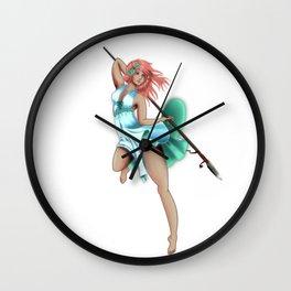 Warrior Sayuri Wall Clock