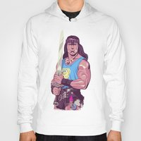 conan Hoodies featuring Conan the Barbarian by Mike Wrobel
