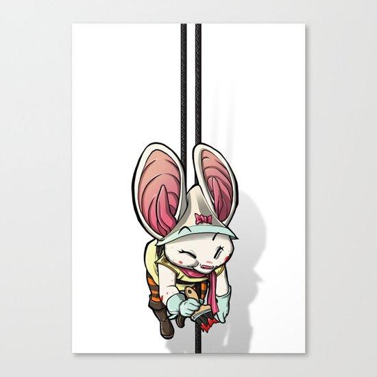 Bat Rabbit Canvas Print