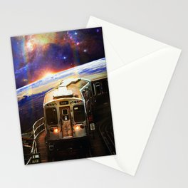 Cosmic Passengers Stationery Cards