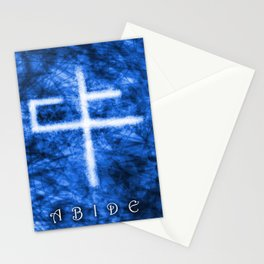 Abide Blue Stationery Cards