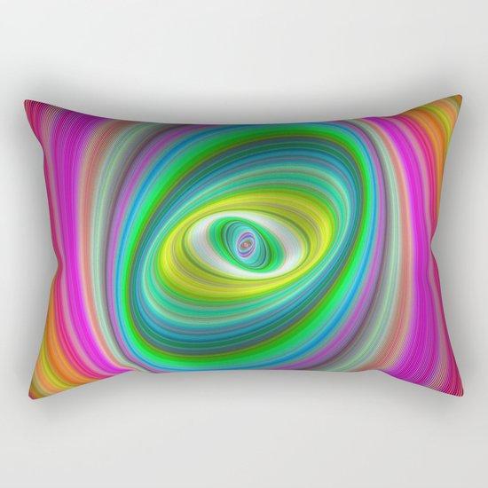 Elliptical magic Rectangular Pillow