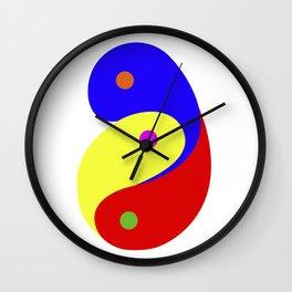 Yin-Yang-Yuan Wall Clock