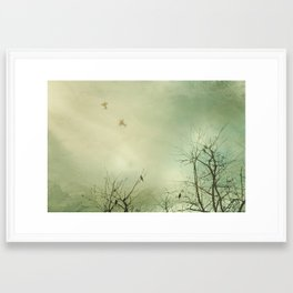 Fly Away With Me 2 Framed Art Print