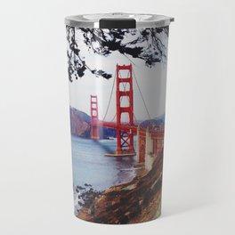 San Francisco - Golden Gate Bridge Travel Mug
