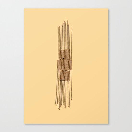Straights Canvas Print