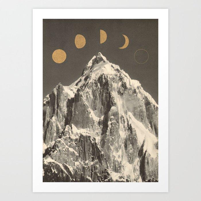 Moon Phases Kunstdrucke