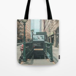 New York City Subway 2 Tote Bag