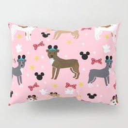 Pitbull theme park vacation dog breed gifts Pillow Sham