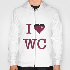 I Heart Wesley Crusher Hoody