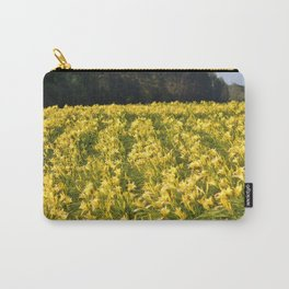 Flowers By The Highway Carry-All Pouch
