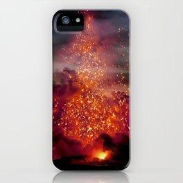 Kilauea Volcano at Kalapana 3a1 iPhone Case