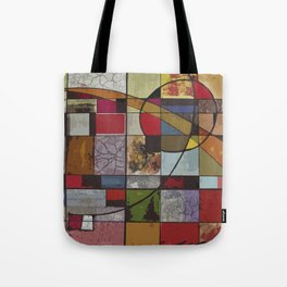 Circle of Colors Tote Bag