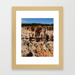Mind Blowing Bryce Canyon View Framed Art Print