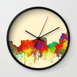 Reno, Nevada Skyline - SG Wall Clock