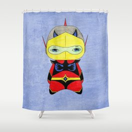 A Boy - Actarus aka Duke Fleed Shower Curtain