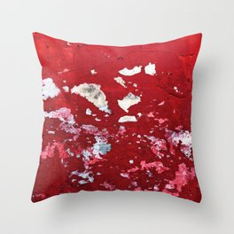 Red Chips Throw Pillow