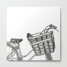Bici Metal Print