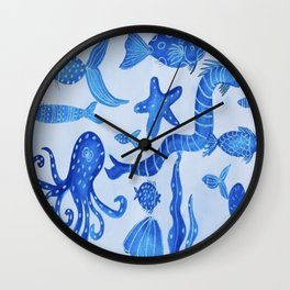 Sea Life Ocean Life Wall Clock