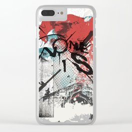 I Remember Nothing Clear iPhone Case