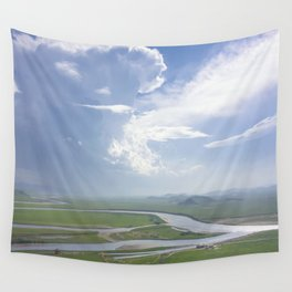 Yellow River in Sichuan, China Wall Tapestry