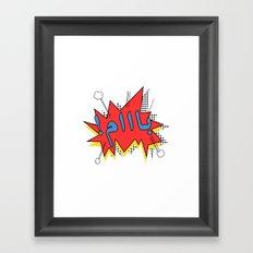 Baam Framed Art Print