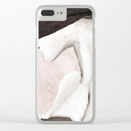 Trendy Lady Clear iPhone Case