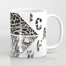 Background from African wild animals Coffee Mug