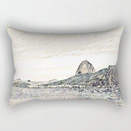 Rio de Janeiro - Pão de Açúcar -  Art Rectangular Pillow
