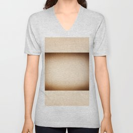 Condensation and water drops on window Unisex V-Neck