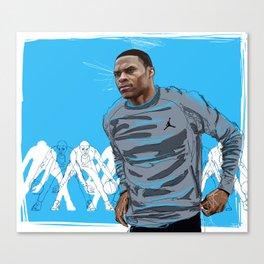 Westbrook x Jordan Canvas Print