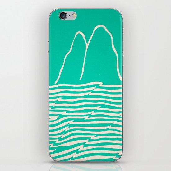 Sea Foam Waves iPhone & iPod Skin