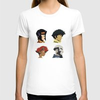 bebop T-shirts featuring Cowboy Bebop - Bounty Days by Aaron Secrist