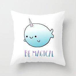 Be Magical Throw Pillow