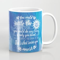 Throne of Glass by Sarah J. Maas Book Quote - Rattle The Stars Mug