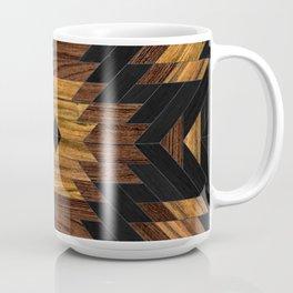 Urban Tribal Pattern 7 - Aztec - Wood Coffee Mug