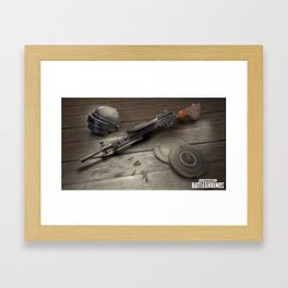 PUBG 03 Framed Art Print