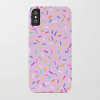 donut iPhone & iPod Cases featuring Donut  by Alexandra Aguilar
