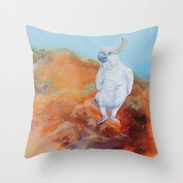 Cocky Throw Pillow