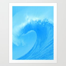 Ripped (Perfect Wave) Art Print