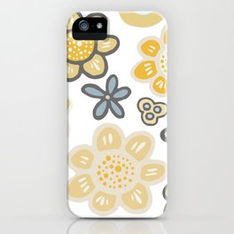Big and Bold Modern Floral No. 1 iPhone Case