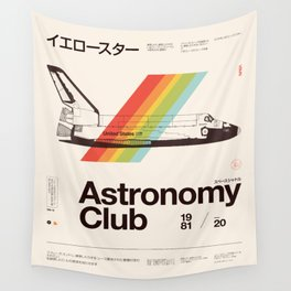 Astronomy Club Wall Tapestry