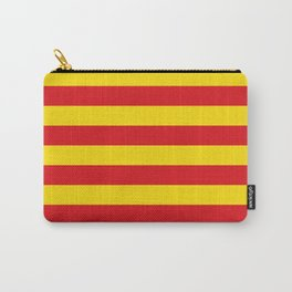 Catalan Flag - Senyera - Authentic High Quality Carry-All Pouch