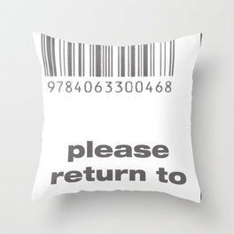 Errrr Throw Pillow