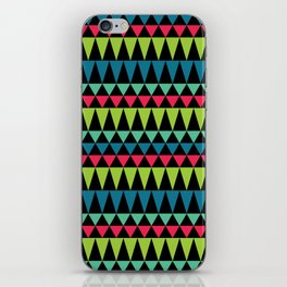 Neon Southwestern Pattern iPhone Skin