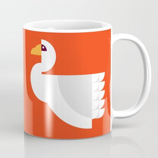 Geometric swan Mug