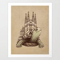 Slow Architecture Art Print